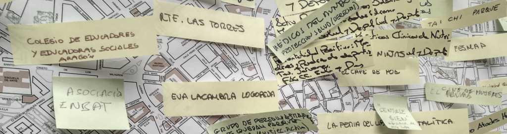 Mapeo de recursos para la promoción de la salud y la prevención en Huesca