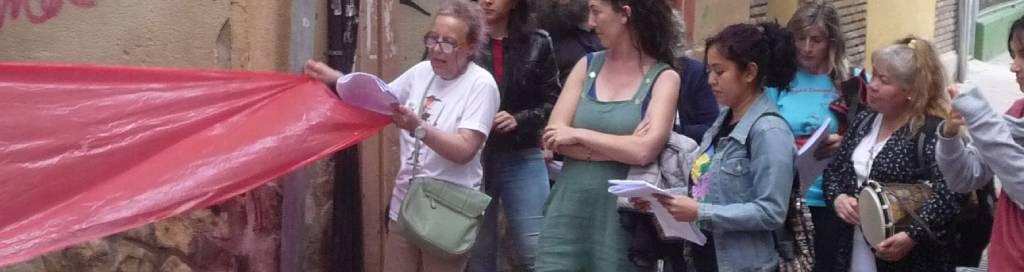 Relatoría del proceso de creación de una obra de teatro comunitario en el barrio del Gancho (Zaragoza)